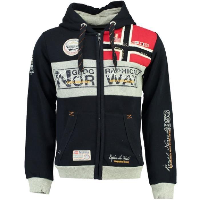 Sweatshirt à capuche Coton FLYER MEN NEW