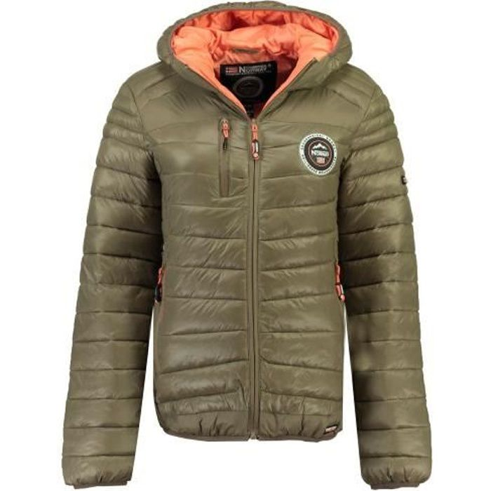 Doudoune Femme Geographical Norway Bambway New Taupe