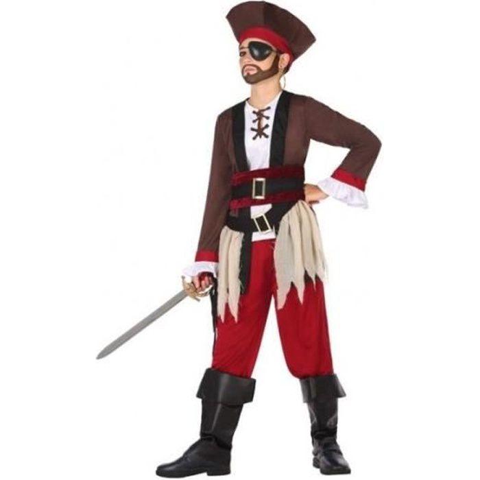 Déguisement Pirate des Caraibes Garçon