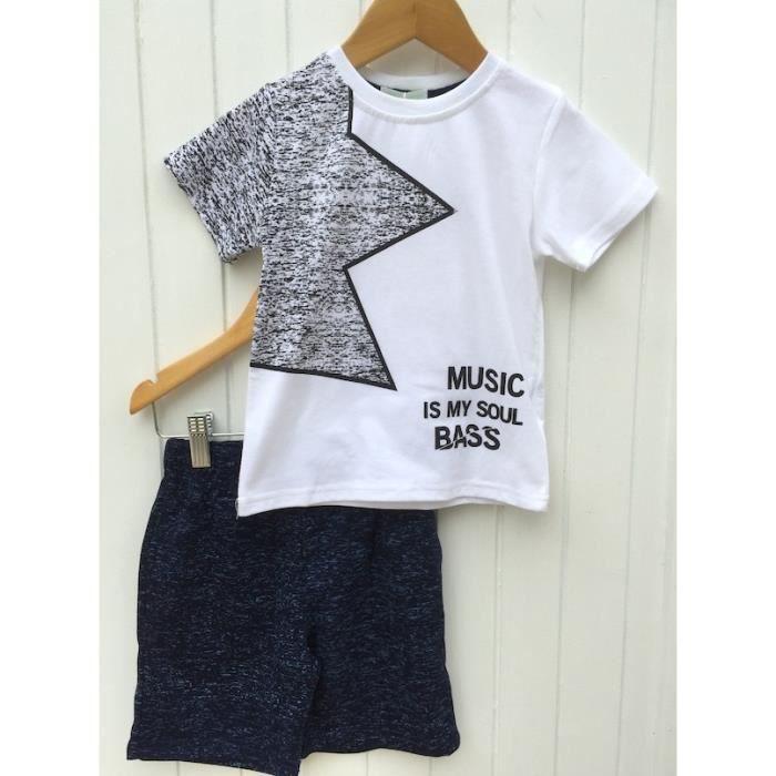 Ensemble T shirt & short