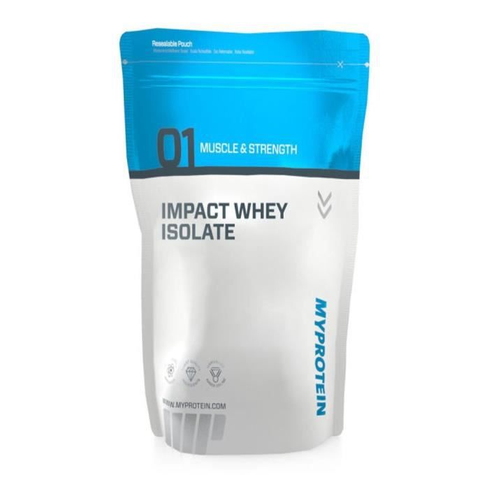 My Protein Impact Whey Isolate Protéine Saveur Vanille 2,5 kg: Hygiène et Soins du corps