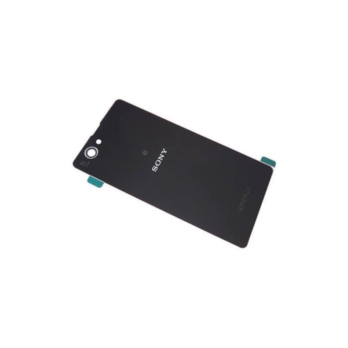 Vitre Arrière Noire - Originale - Sony Xperia Z1 Compact