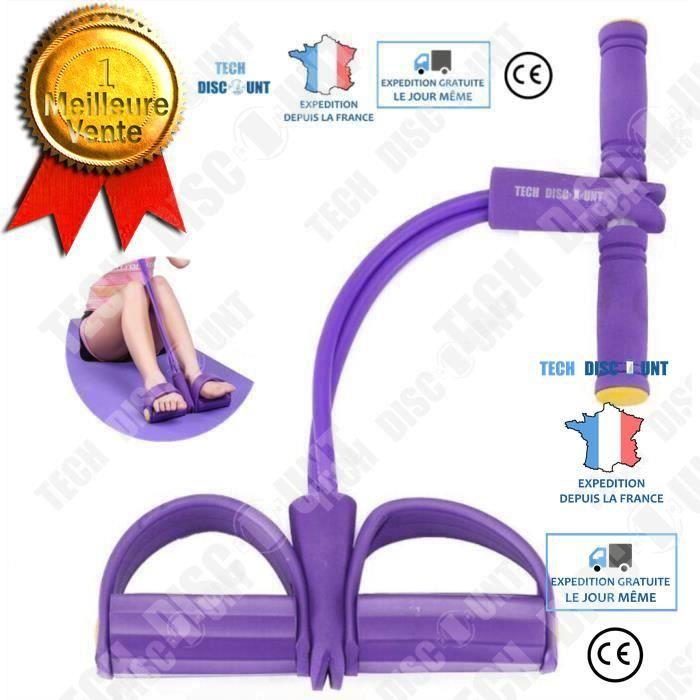 TD® Bande de résistance fitness musculation yoga pour traction élastique sport gymnastique latex mousse ventre multifonction