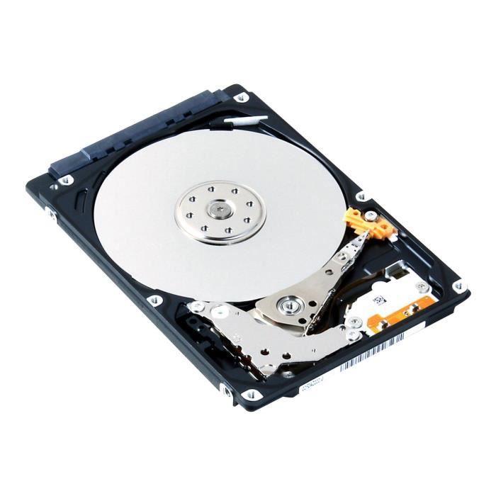 Toshiba MQ01ABF050 - Disque dur - 500 Go - interne - 2.5- - SATA 6Gb-s - 5400 tours-min - mémoire tampon : 8 Mo