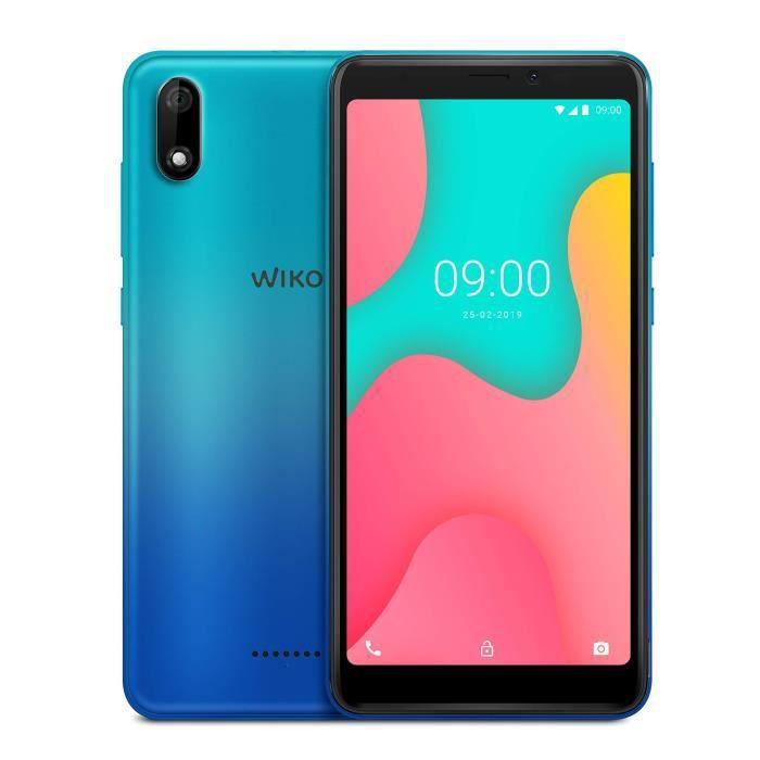 Wiko Y60 Smartphone débloqué 4G (Ecran 5, 45 Pouces - 16 Go - Micro-SIM/Nano-SIM + Emplacement Micro SD pour mémoire Extensible