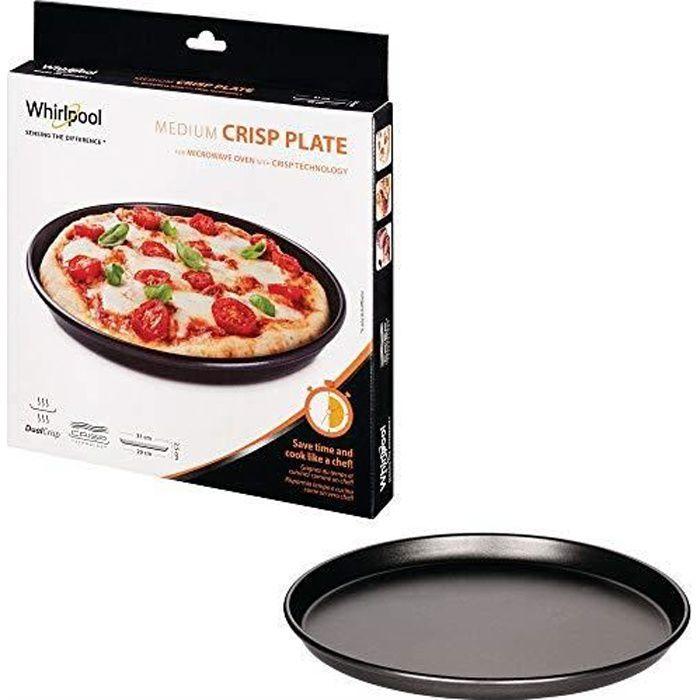 Wpro AVM290 Plat Crisp Diamètre: 31 cm pour Micro-Ondes Crisp Wpro VIP27 -34 et Talent AVM290