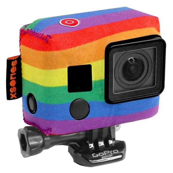 XSORIES Housse en néoprène pour GoPro Tuxsedo - Multicolore