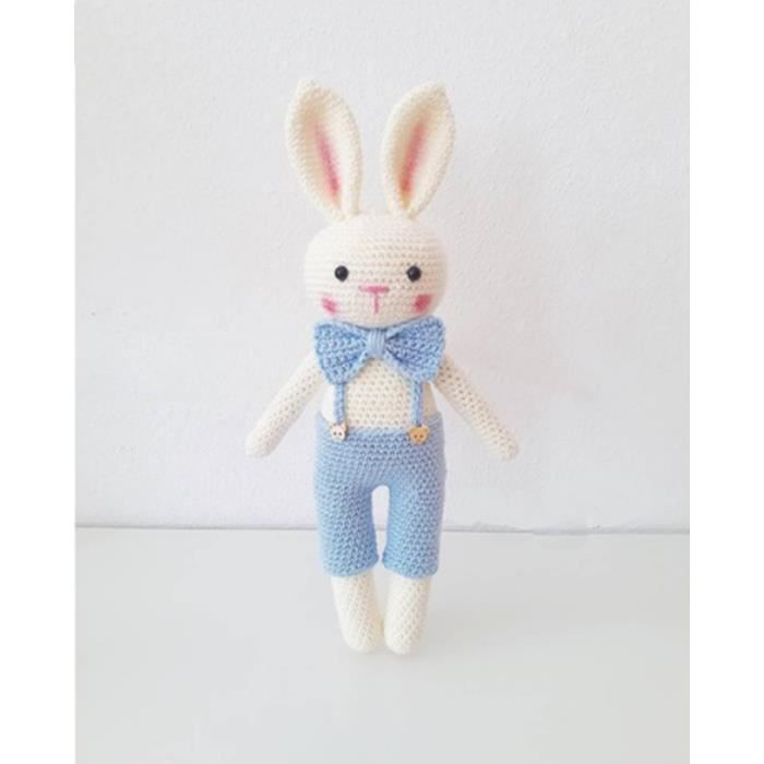 Tuto Lapin Amigurumi Doudou - YouTube   Doudou lapin, Doudou, Lapin   700x700