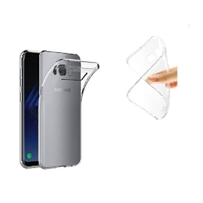 Coque Samsung Galaxy S8/ SILICONE TRANSPARENT