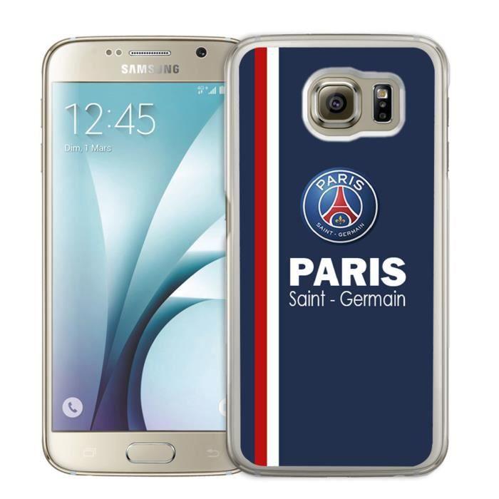 Coque Samsung Galaxy S7 : Paris Saint Germain - Ps