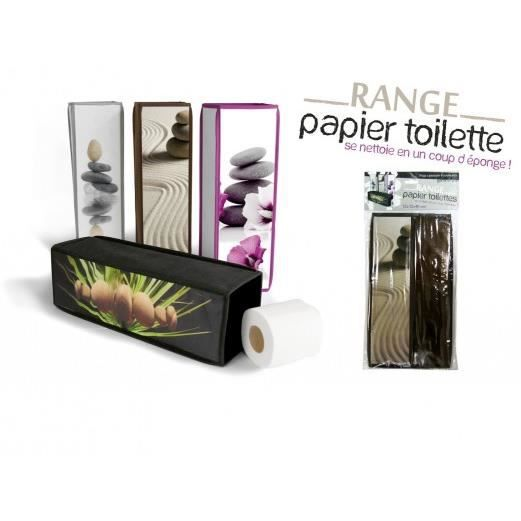 range papier toilette marron achat vente serviteur wc range papier toilette marron. Black Bedroom Furniture Sets. Home Design Ideas
