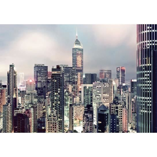 poster mural geant xxl new york en couleur skyline achat vente papier peint cdiscount. Black Bedroom Furniture Sets. Home Design Ideas
