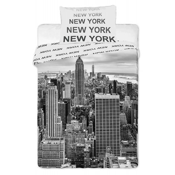 drap de lit new york achat vente drap de lit new york pas cher les soldes sur cdiscount. Black Bedroom Furniture Sets. Home Design Ideas