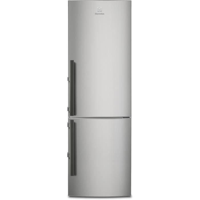 RÉFRIGÉRATEUR CLASSIQUE ELECTROLUX EN3453MOX -Réfrigérateur combiné-311 L