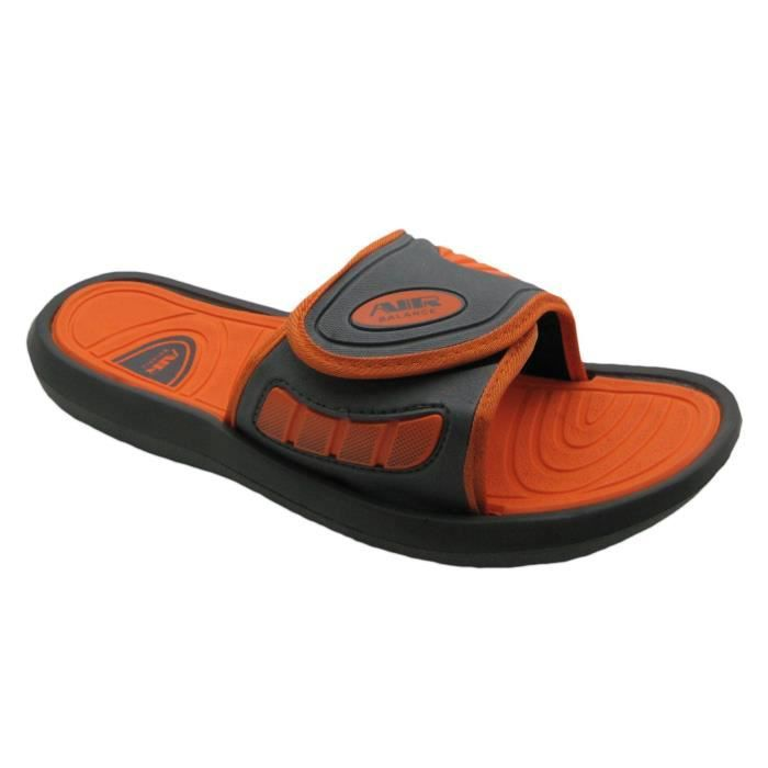 Air Boys Comfortable Shower Beach Sandal Slippers W-adjustable Strap In Classy Colors TD5ZT Taille-40 1-2