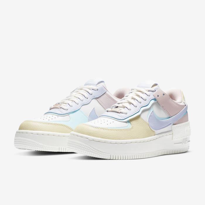 Air Force 1 Low Shadow Pastel Originals Chaussures Baskets AF1 ...