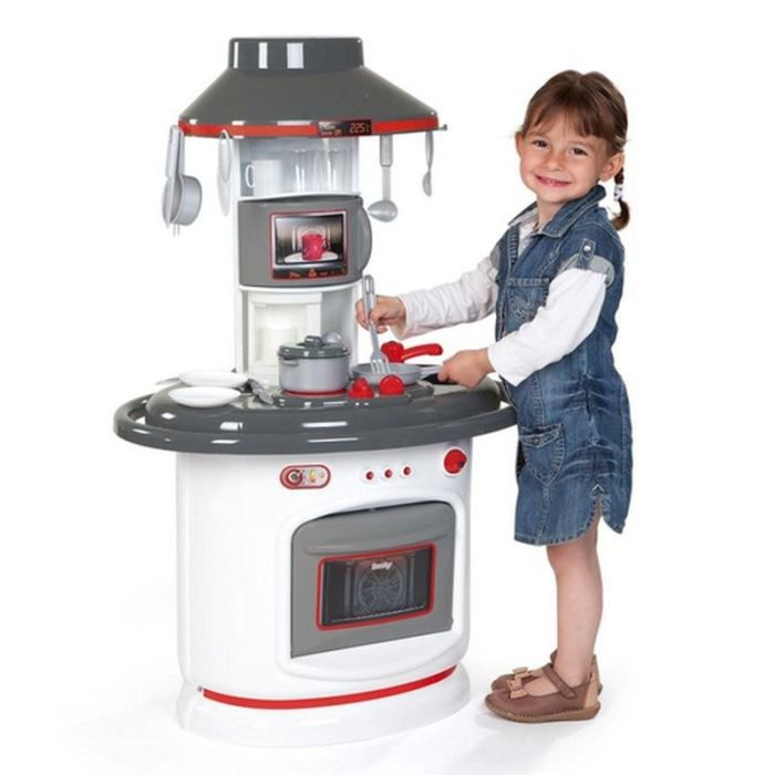 Smoby cuisine chef tefal achat vente dinette cuisine for Cuisine tefal smoby