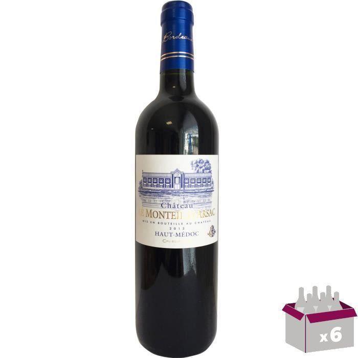 Château Le Monteil D'Arsac 2013 Haut Médoc Cru Bourgeois - Vin rouge de Bordeaux