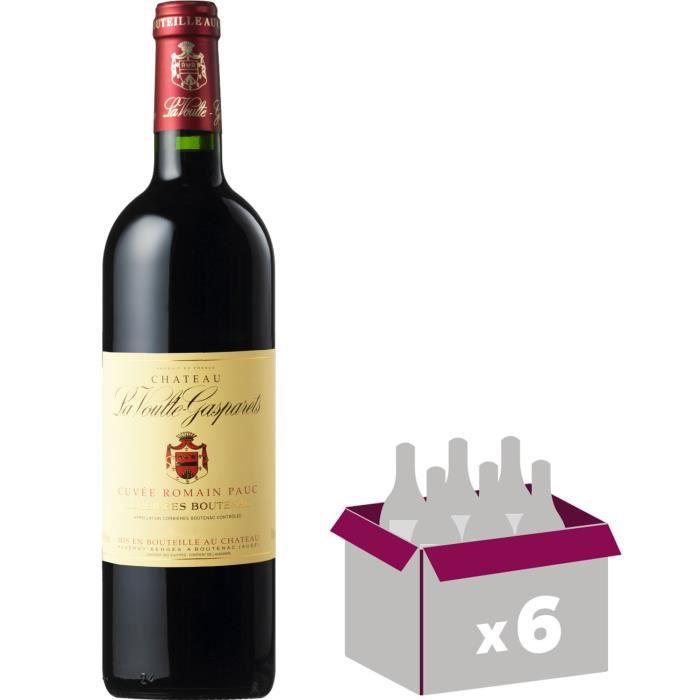 CHÂTEAU LA VOULTE GASPARETS 2013 Cuvée Romain Pauc Corbières Boutenac - Rouge - 6x 75 cl