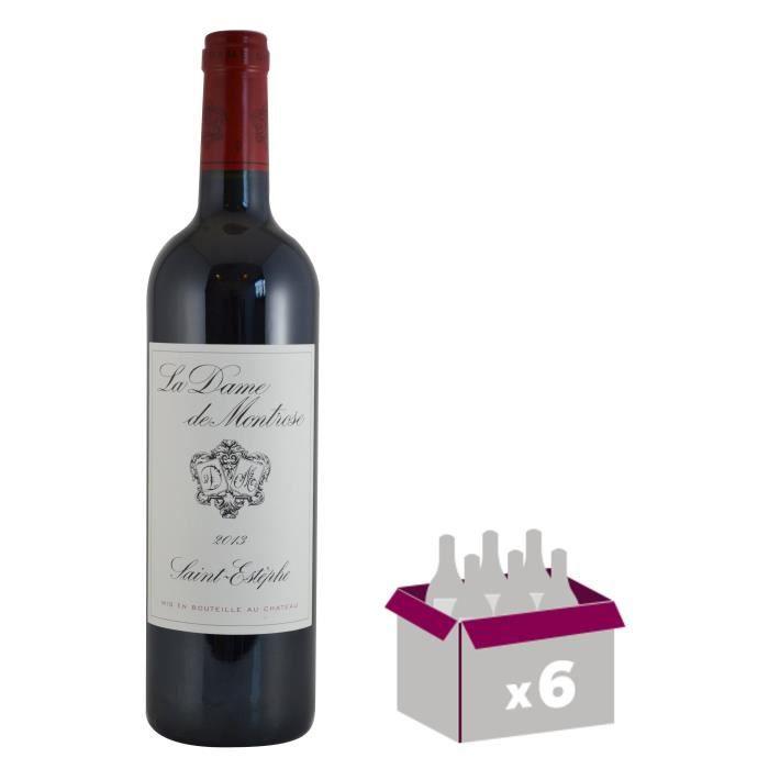 La Dame De Montrose 2013 Saint Estèphe Grand Cru - Vin rouge de Bordeaux