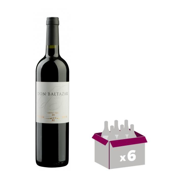 DON BALTAZAR Cabernet Franc Vin d'Amérique du Sud - Rouge - 75 cl x 6