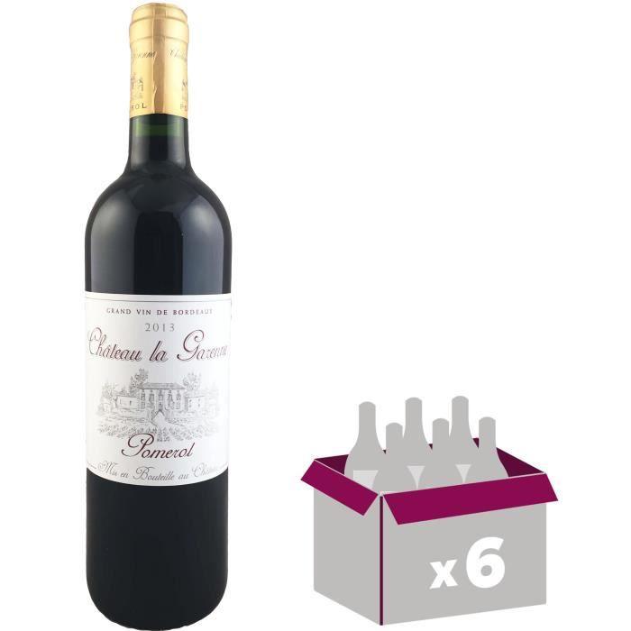 Château La Garenne Pomerol 2013 - Vin rouge x6