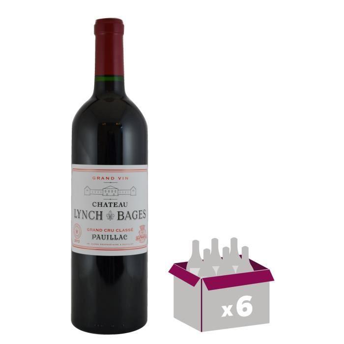 CHÂTEAU LYNCH 2013 Bages Pauillac Grand Cru - Rouge - 6x 75 cl