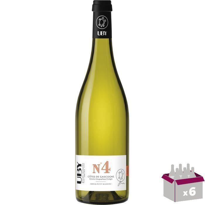 UBY N°4 Côtes de Gascogne Gros et Petit Manseng Vin Blanc