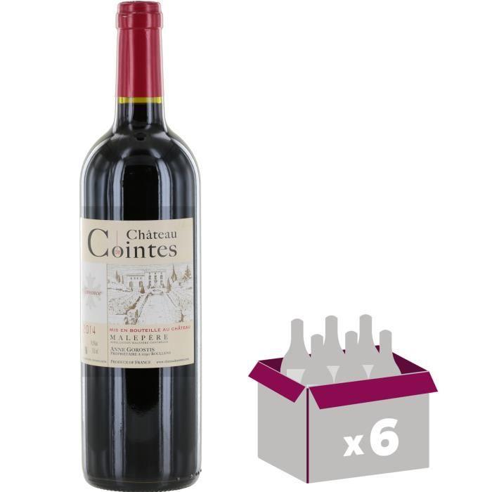 Château de Cointes 2014 Malepère - Vin rouge du Languedoc Roussillon