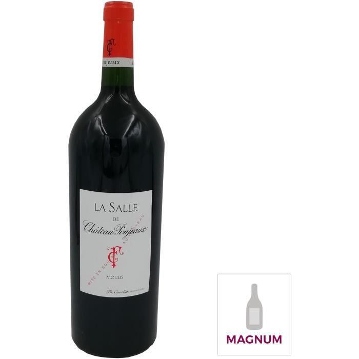 Magnum La Salle de Château Poujeaux 2013 Moulis-en-Médoc - Vin rouge de Bordeaux