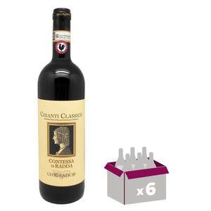 VIN ROUGE Contessa Di Radda Geografico Chianti - Vin rouge d