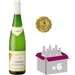 VIN BLANC Heinrich - Gewurztraminer - Vin blanc d'Alsace