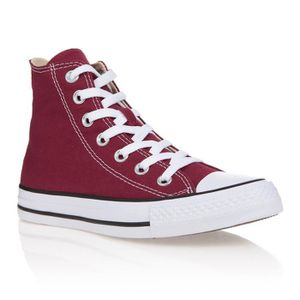 0509e554efcf1 BASKET CONVERSE Baskets montantes All Star - Rouge bordea ...