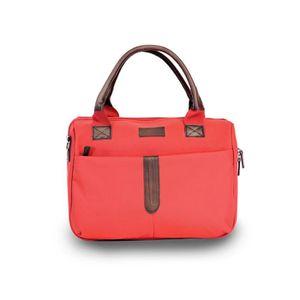 TROUSSE DE TOILETTE  KINSTON Sac et Vanity Naples - Textile - Rouge