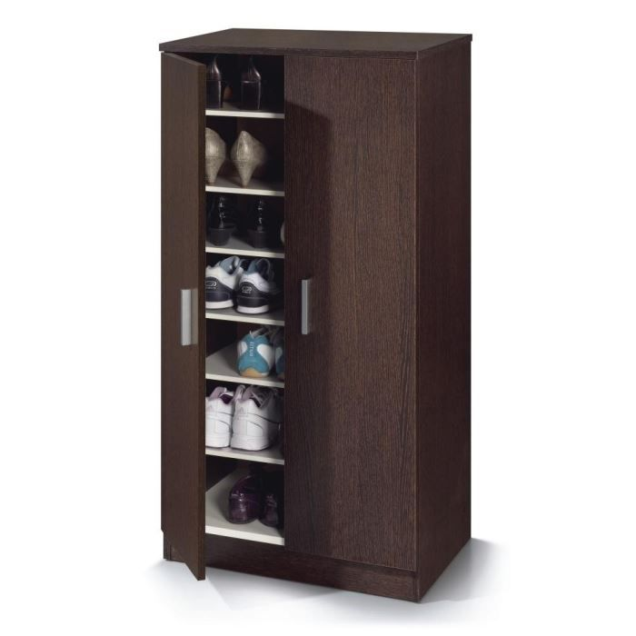 zapato armoire chaussures 108cm weng achat vente. Black Bedroom Furniture Sets. Home Design Ideas