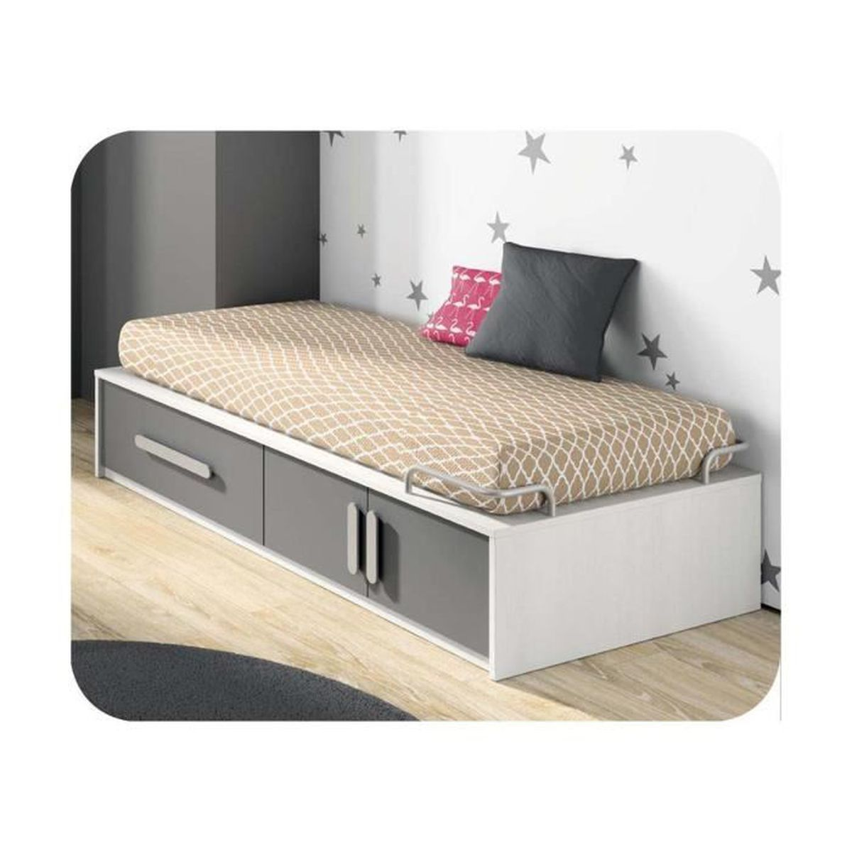 lit enfant planet 90x190 cm achat vente lit complet lit enfant planet 90x190 cm cdiscount. Black Bedroom Furniture Sets. Home Design Ideas