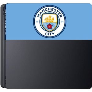 STICKER - SKIN CONSOLE Façade de personalisation Manchester City Football