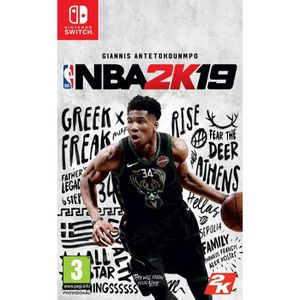 JEU NINTENDO SWITCH NBA 2K19 Jeu Switch
