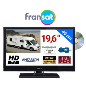 Téléviseur LED ATVLT20DVDFRANSAT - COMBINÉ TV/DVD LED 19,6