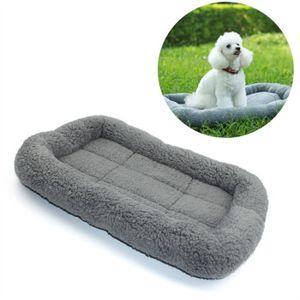 CORBEILLE - COUSSIN Lits de chien de compagnie Couverture chaude molle