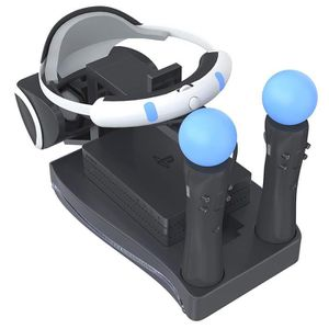 CHARGEUR CONSOLE PS4 PS Move VR Support de Stockage De Charge PSVR