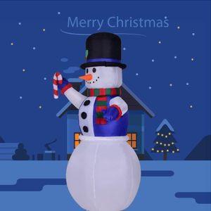 BOÎTE À FORME - GIGOGNE LED bonhomme de neige gonflable de Noël Lighted Ha