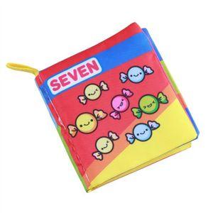 Livres En Tissu Doux Pour Bebe Livre En Premier Bebe Livre En Tissu Non Toxique Jouets Educatifs En Apprentissage Precoce Nombre