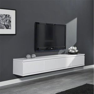 meuble tv suspendu achat vente meuble tv suspendu pas. Black Bedroom Furniture Sets. Home Design Ideas