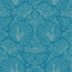 Bleu Pailleté Papier Peint Sparkle Brillant Vinyle Collez Le Mur Texturé Erismann