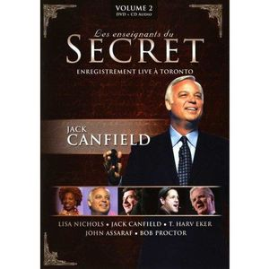 DVD FILM Les Enseignants du Secret - Volume 2 - Jack Canfie