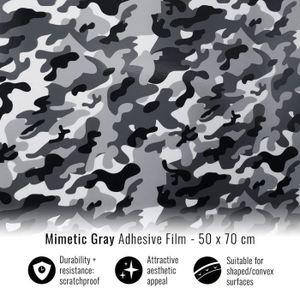 ACCESSOIRE CASQUE Film Adhésif Wrapping pour Voitures, Camouflage Gr