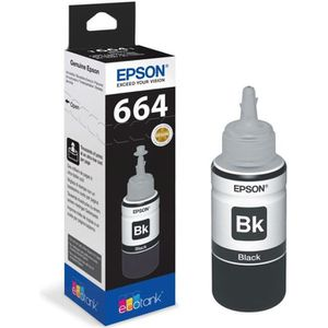 CARTOUCHE IMPRIMANTE Bouteille d'encre Epson Ecotank T6641 - 70ml Noir
