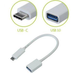 CÂBLE INFORMATIQUE CABLING® USB-C 3.1 Type C Mâle vers USB 3.0 Femell