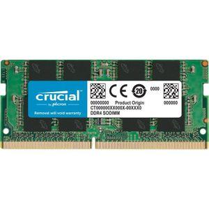 MÉMOIRE RAM Mémoire CRUCIAL 16GB DDR4 2666 MT/s (PC4-21300) CL